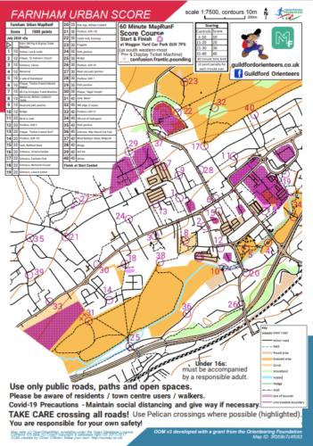 Farnham Urban Score Map
